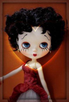 Blythe looks like Betty Boop