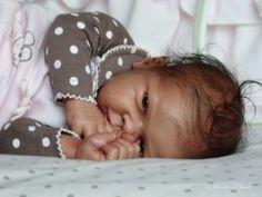 reborn doll ,baby, ethnic, AA, biracial, girl, Maggie Tamie Yarie, OOAK   eBay