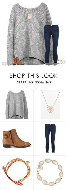 """""""lost in the finals"""" by secfashion13 ❤ liked on Polyvore featuring Argento Vivo, Lauren Ralph Lauren, Frame Denim, Tai, Kendra Scott, women's clothing, women, female, woman and misses"""