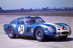 Roger Penske - Augie Pabst Ferrari 250 GTO at Sebring 1963