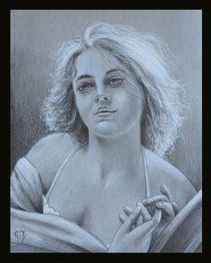sketch by artist Marsha Bowers