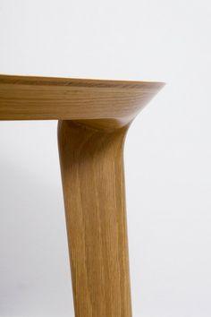 Fawn End Table Oak