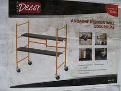 Andaime Com Rodinhas E Plataforma Decor - R$ 199,00