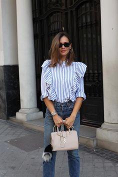 Ladyaddict Street Style Camisa Rayas   Supernatural Style