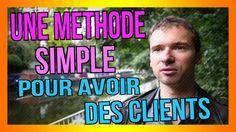 Une méthode ULTRA SIMPLE pour avoir PLEIN de clients SANS les trouver vous-même :) : https://www.youtube.com/watch?v=miMQ7NE5llI :) #méthode #clients #vente #marketing