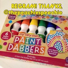 Great find, thanks @thepeachiespeechie! You found them at Target?? What section of the store? Art Supplies, back to schoool, or what? - - click on pin for more! - Like our instagram posts? Please follow us there at instagram.com/pediastaff