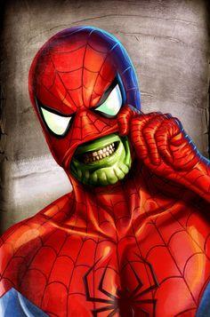 Spider-Man Skrull by Greg Horn