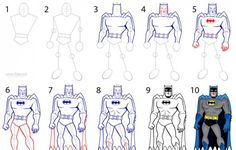How-to-Draw-Batman-Step-by