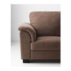 IKEA - TIDAFORS, Loveseat, Hensta light brown, , The high back provides good support for your neck and head.Seat cushions with cold foam and a top layer of memory foam. Molds to the precise contours of your body and regains its shape when you get up.The armrests with extra padding are comfortable to lean against.Durable cover of chenille quality with a slight sheen and a soft feel.10-year limited warrranty. Read about the terms in the limited warranty brochure.