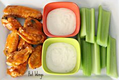 Recipe for the BEST Hot Wings