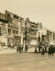 fuckyeahvintage-retro:  New York City, 1931