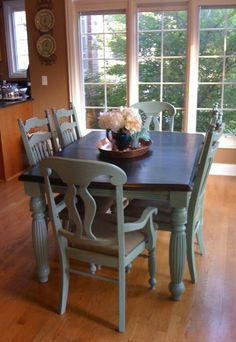 Resultado de imagen para kitchen table chairs from old to new