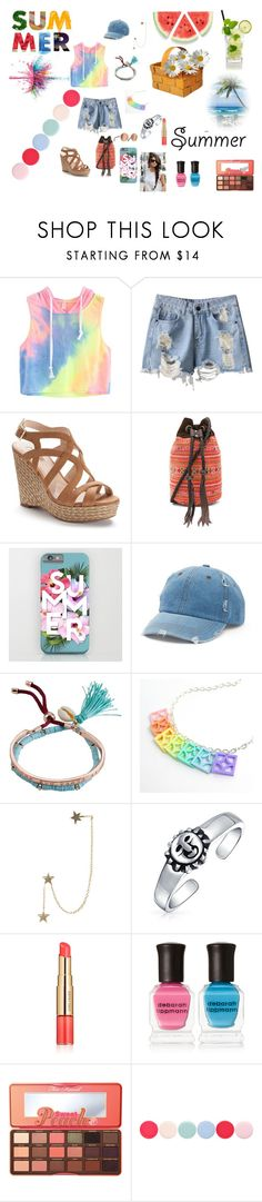 """""""Summer Vibes"""" by countrycowgirl-1718 on Polyvore featuring Jennifer Lopez, JADEtribe, Mudd, Billabong, Zimmermann, Bling Jewelry, Estée Lauder, Deborah Lippmann, Too Faced Cosmetics and Givenchy"""