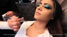 Airbrush Makeup Tutorial by Tehmina Ahmad Apple Devices HD Best Quality