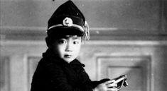 Mifune as a little kid in China. Toshiro Mifune, Captain Hat, Kids, China, Young Children, Boys, Children, Boy Babies, Porcelain