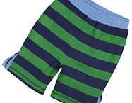 Made from durable organic cotton interlock and soft to wear on delicate skin. They feature elasticated waistband and are reversible. Cool Patterns, Little People, Organic Cotton, Delicate, Swimwear, Clothing, How To Wear, Fashion, Bathing Suits