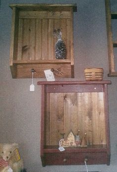 Solid Pine Wainscot Shelf by JaneCandace on Etsy
