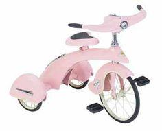 Pink Princess Junior Tricycle
