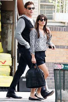 Cory Monteith and Lea Michele....I love them together! :) They are the cutest couple ever! :)