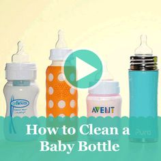 Learn the best ways to sterilize and keep baby bottles clean.
