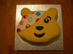 Pudsey Cake Toppers Sainsburys