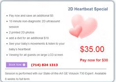 3d Ultrasound, Listening To You, In A Heartbeat