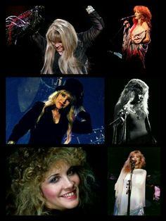 Stevie Nicks Collage Created By Tisha 04/01/15