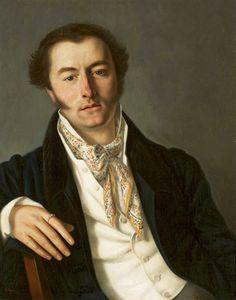 Portrait of a man by Vasily Tropinin, 1820s (PD-art/old), Muzeum Narodowe w Warszawie (MNW)