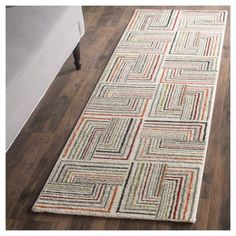 Kingston Accent Rug - Ivory / Grey ( 2' 7 X 5' ) - Safavieh, Durable