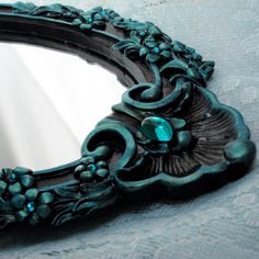 . Shades Of Teal, Teal And Grey, Dark Teal, Pink And Gold, Blue Green, Teal Highlights, Grey Painted Furniture, Duck Egg Blue, Turquoise Necklace