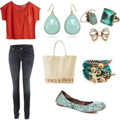 Casual, created by #brittanydyel on polyvore.com