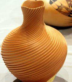 coil-built pottery