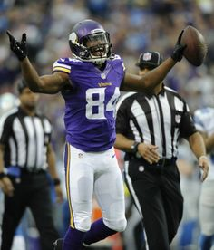 Cordarrelle Patterson, Minnesota Vikings. Cordarrelle Patterson is the only rookie in Vikings history to score a td in three different categories! Rushing, recieving and returning.