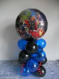 Easy enough to make for a different type of balloon display