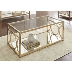 Glass Top Coffee Table Furniture Amp Decor Coffee Table