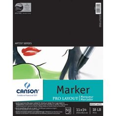 Buy Canson Pro Layout Marker Paper Pads and other quality Pen / Marker / Layout / Vellum Paper at low discount prices from Utrecht, trusted since 1949 by artists from professionals to kids. Utrecht, Best Sketchbook, Technical Pen, Marker Paper, Paper Craft Supplies, Art Supplies, Vellum Paper, Drawing Letters, Quick Sketch