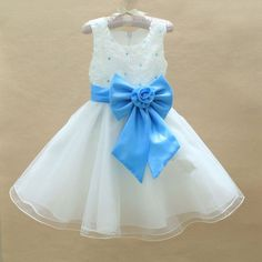 14.58$  Watch here - http://aliw77.shopchina.info/go.php?t=32528432865 - Christmas gifts 2016 Baby Girls Big Bow  Birthday Dresses Children's Holiday party dress vestidos para festa curto kids Clothes 14.58$ #magazineonlinewebsite