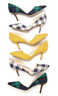 really want these! Bestselling d'Orsay mid heels with pointed toes. The epitome of office-to-out style.