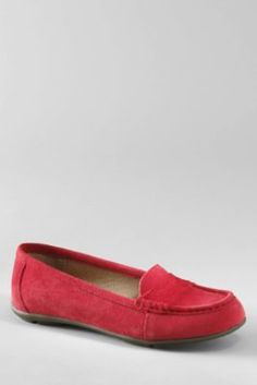 Lands' End Loafer.  Perfect for running around with kids, but not a tennis shoe.  Also would be great with my cropped ankle pants.  Love that they come in Navy.