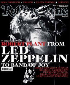 RS Interview to #RobertPlant, due anni fa sulla cover di Gennaio 2011 - I primi 100 numeri di Rolling Stone N°87