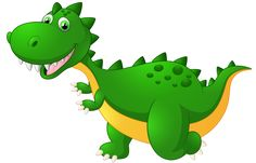 Cute Dragon Cartoon PNG Clipart Image