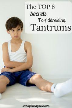address tantrums