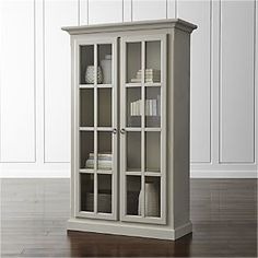 Vitrine Cabinet  i love this cabinet i feel like it may be simple to make.