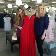 - This dress also comes in black, but I must say i'm loving the red! #ilovemydress #tcarolyn #tcdressedme #motherofthebridedress  #eveningdress #eveninggown #motherofthegroomdress
