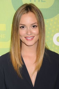 Leighton Meesters long straight hairstyle