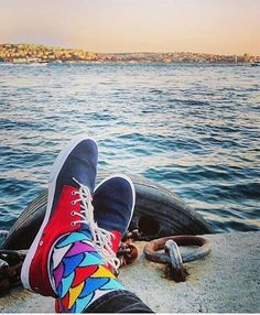 Throwback Thursday to summer days  #tbt #2016  #BallonetSocks #socks #fashion #ballonet #menstyle #redshoes #socksoftheday #sockswag #style #ソックス #giftbox #gift #sea #seaview #coloredsocks #socksout #secretsantagift #magic