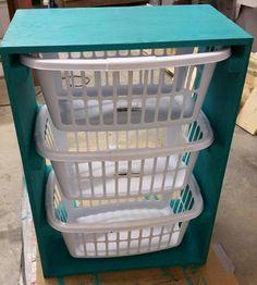 Pallirondack laundry basket dresser do it yourself home projects laundry basket dresser do it yourself home projects from ana white solutioingenieria Image collections