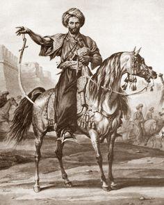 Египетский мамлюк (мамелюк) XVIII века.