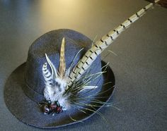 feathered fedora