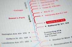 TTC Signage   Grid on Behance